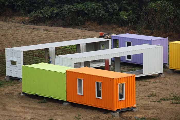 Prix construction maison container budget for Construction maison avec container