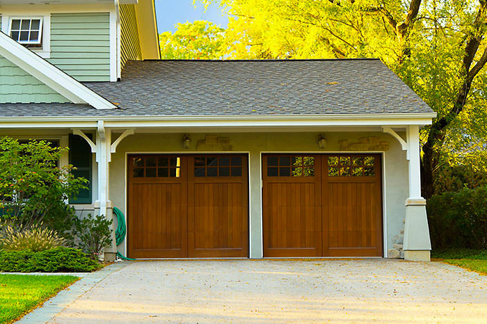 Porte de garage bois budget for Budget pour construction garage